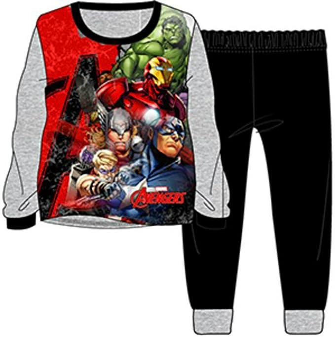 Boys pijama de los Vengadores – 100% algodón – claras y nítidas sublimada impresión que