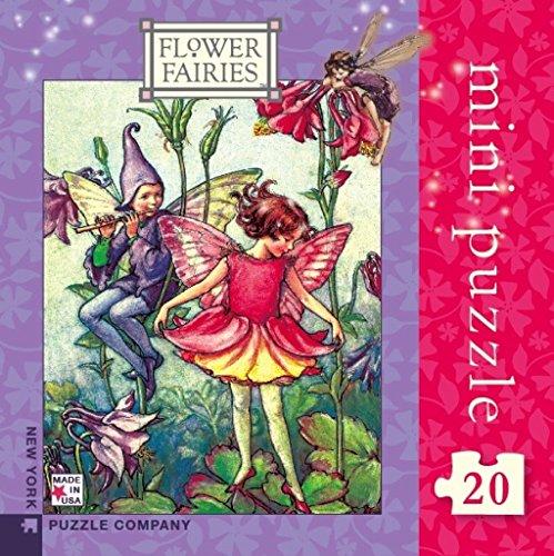 New York Puzzle Company - Flower Fairies Columbine Fairy Mini - 20 Piece Jigsaw Puzzle