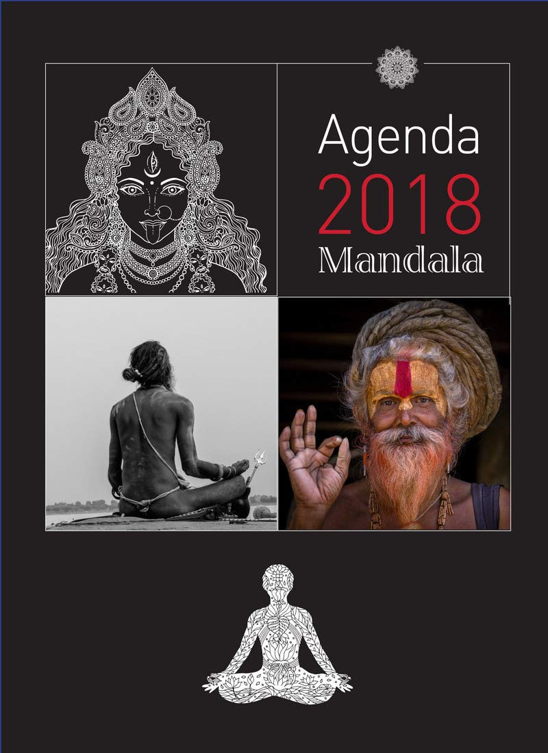 Agenda yoga mandala 2018 Poche (LP.DEV.PERSONN.): Amazon.es ...
