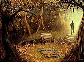 amazon com the beatles strawberry fields art painting on canvas
