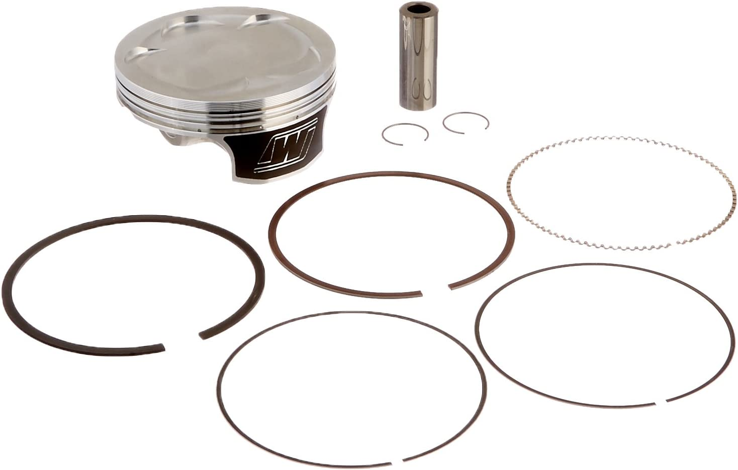 Wiseco 4820M09600 96.00mm 12:1 Compression 449cc Motorcycle Piston Kit