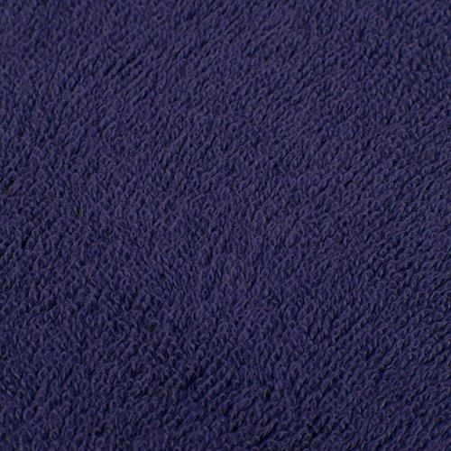 Pinzon Blended Egyptian Cotton 6-Piece Towel Set, Navy