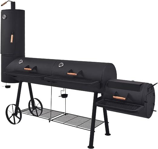 vidaXL Barbecue au Charbon de Bois et Etagère Inférieure