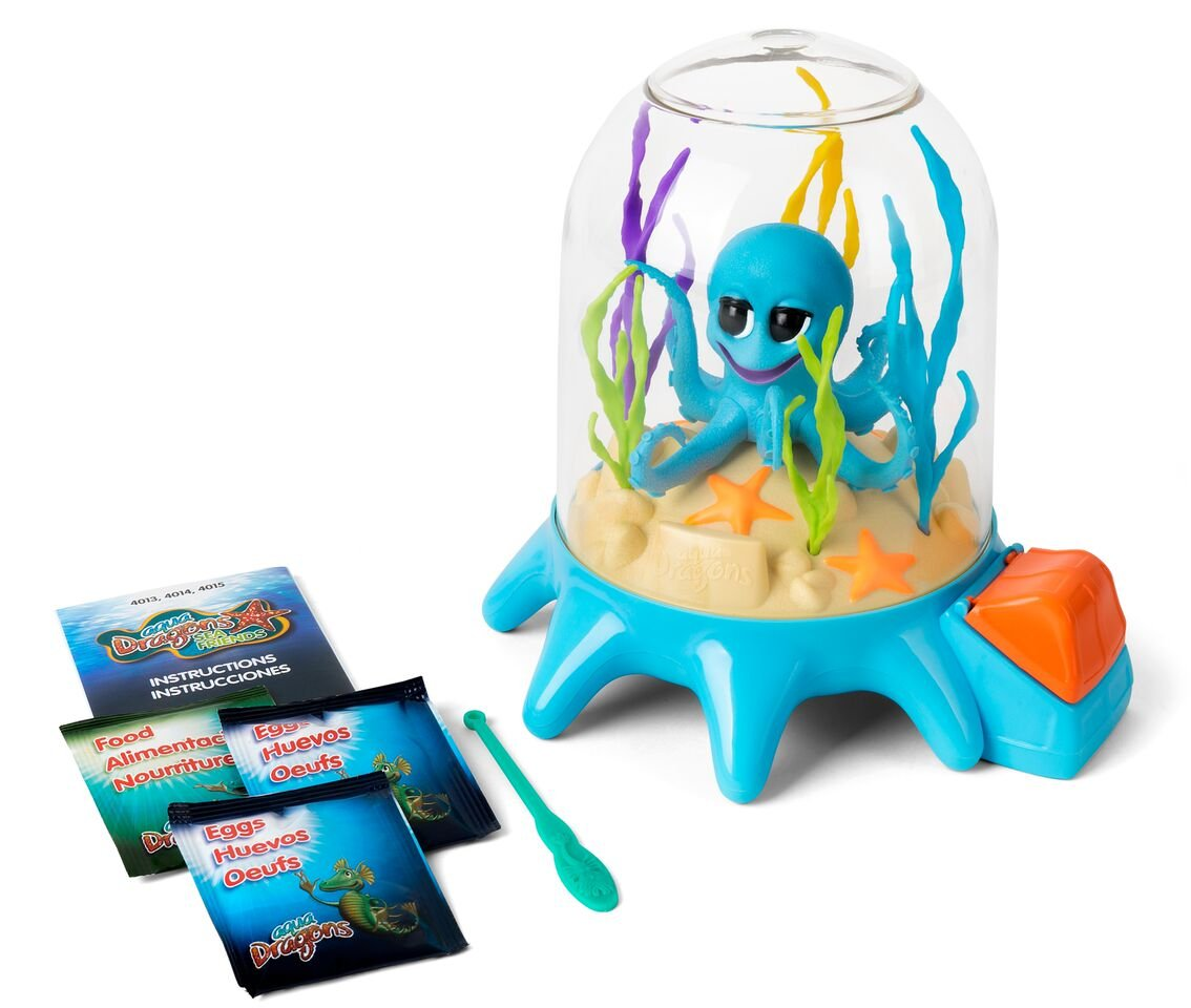 Aqua Dragons Amigos Marinos Juguete Educativo, (World Alive 4013) WA4013