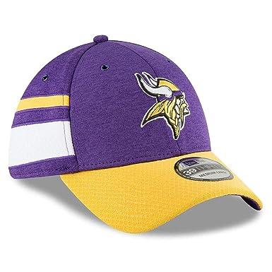 995de22d0 Amazon.com: New Era Men's Minnesota Vikings 2018 NFL On Field Sideline Hat:  Clothing