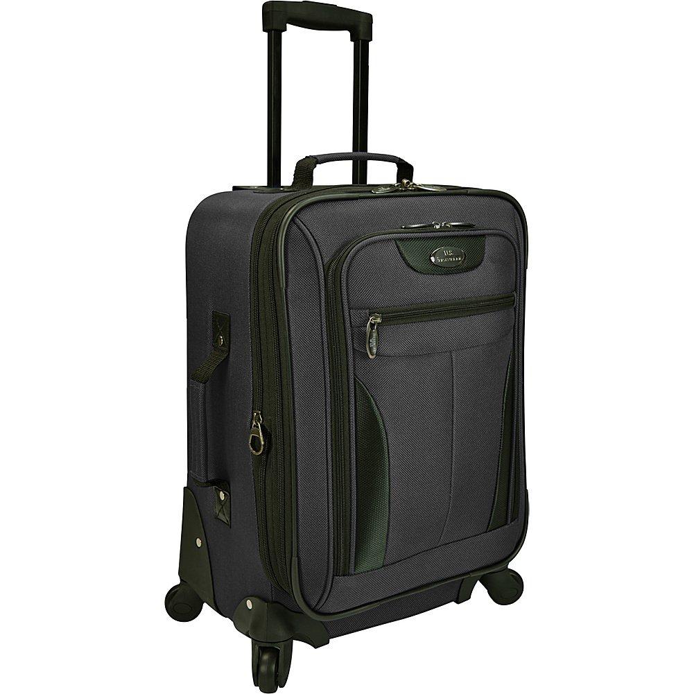 U.S. Traveler Charleville 20 Spinner Luggage Black