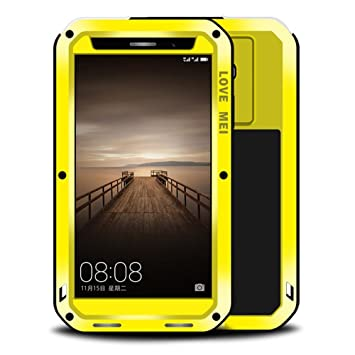 new style a138d 22f38 Huawei Mate 9 Pro Case, Love Mei Shockproof Waterproof Dust/Dirt/Snow Proof  Aluminum Heavy Duty Armor Case Cover for Huawei Mate 9 Pro 5.5