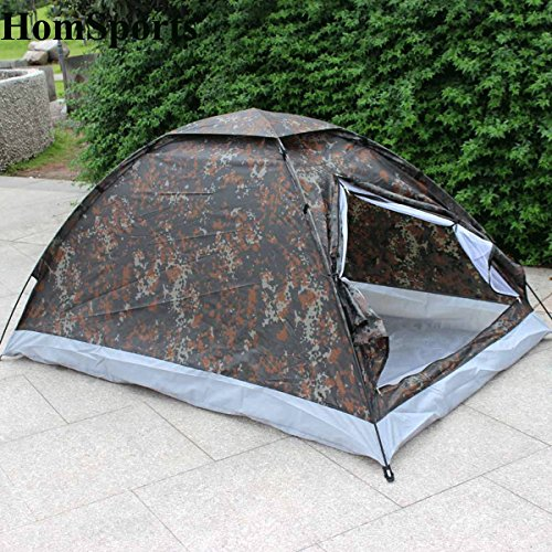 C&ing Tent for 2 Person Single Layer Outdoor C&ing Portable Festival Camouflage & Coleman Replacement Tent Pole Kit u2013 outdoor camping tent
