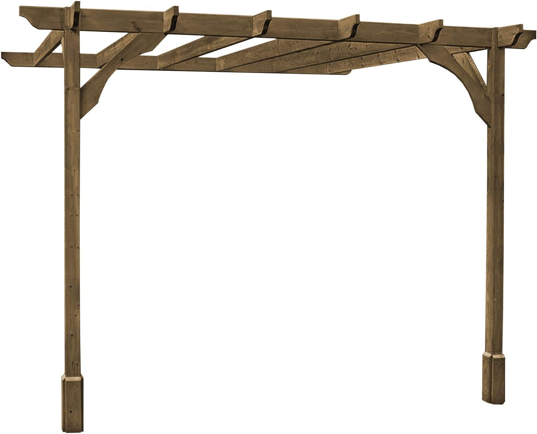 Rutland County Muebles de jardín Premium Lean To Pérgola – 5 Hecho ...