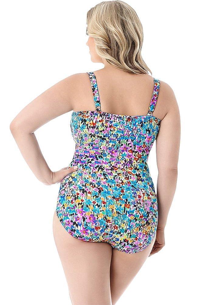 6065308ad74 Amazon.com: Longitude Star Quality Plus Size Lingerie One Piece Swimsuit  Size 18W: Clothing