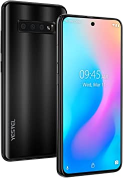 YESTEL Note 10 Smartphone 4G Pantalla desbloqueada 6.41 Pulgadas ...