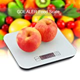 GDEALER Kitchen Scale 22lb/10kg Digital Kitchen