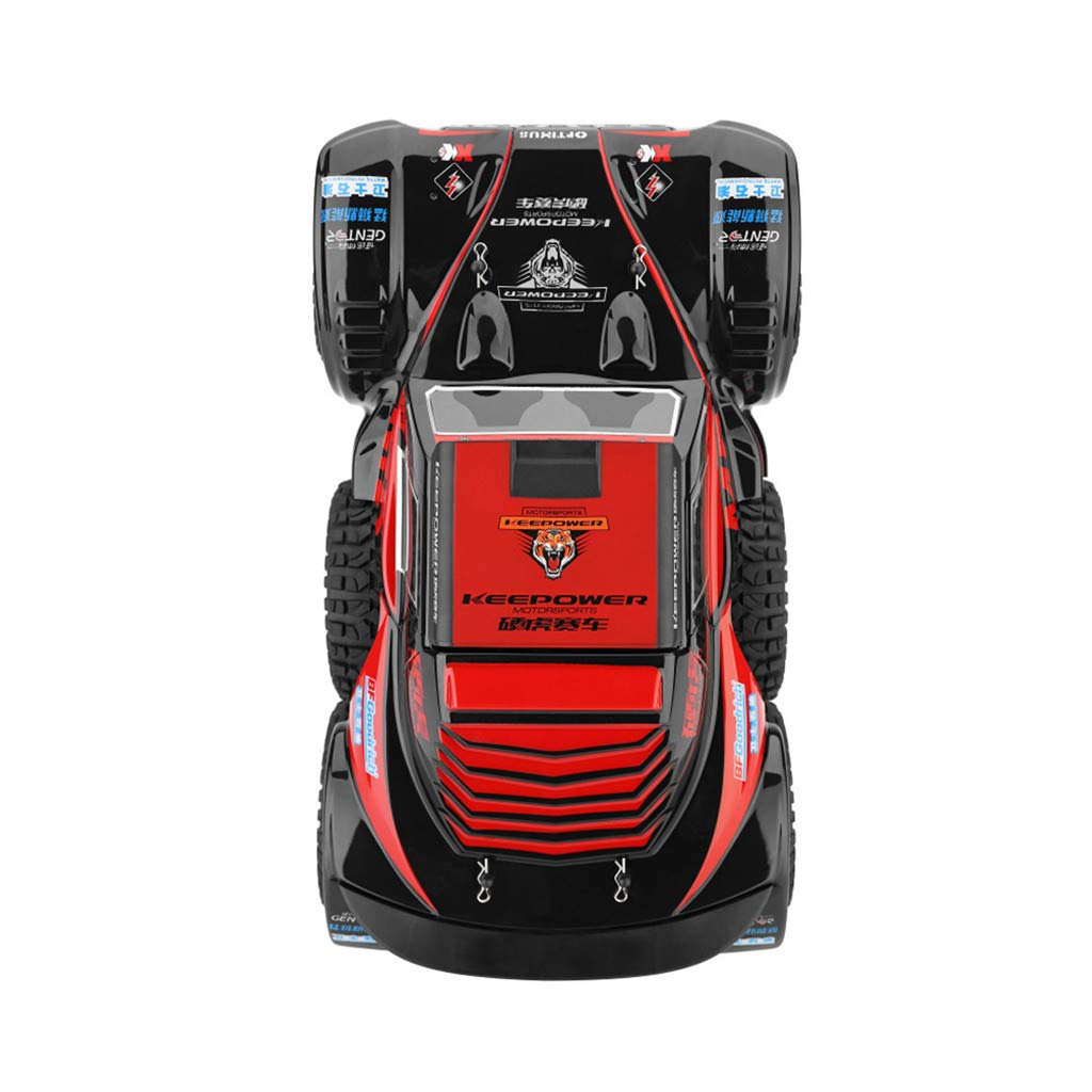 Hot  Wl 540 Brush Motor RC Off-Road Car 1:12 2.4G 4WD 60km/h High Speed Radio Remote Control Car Racing, RC Car Toys for Kids Age 8+ (red) by Hisoul (Image #7)