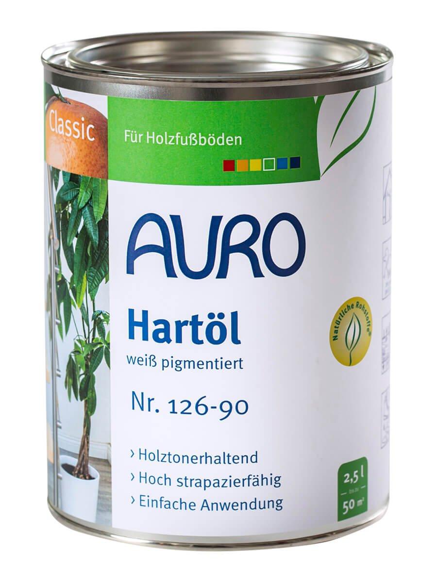 AURO Huile dure blanchie, Classic - No. 126-90