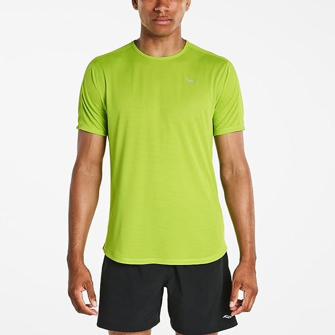 odebrać cała kolekcja najlepsza obsługa Saucony Men's Hydralite Short Sleeve Shirt: Amazon.co.uk ...
