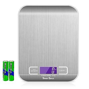 Smart Scale – Báscula de cocina digital Báscula de precisión digital Báscula Electro – Báscula electrónica