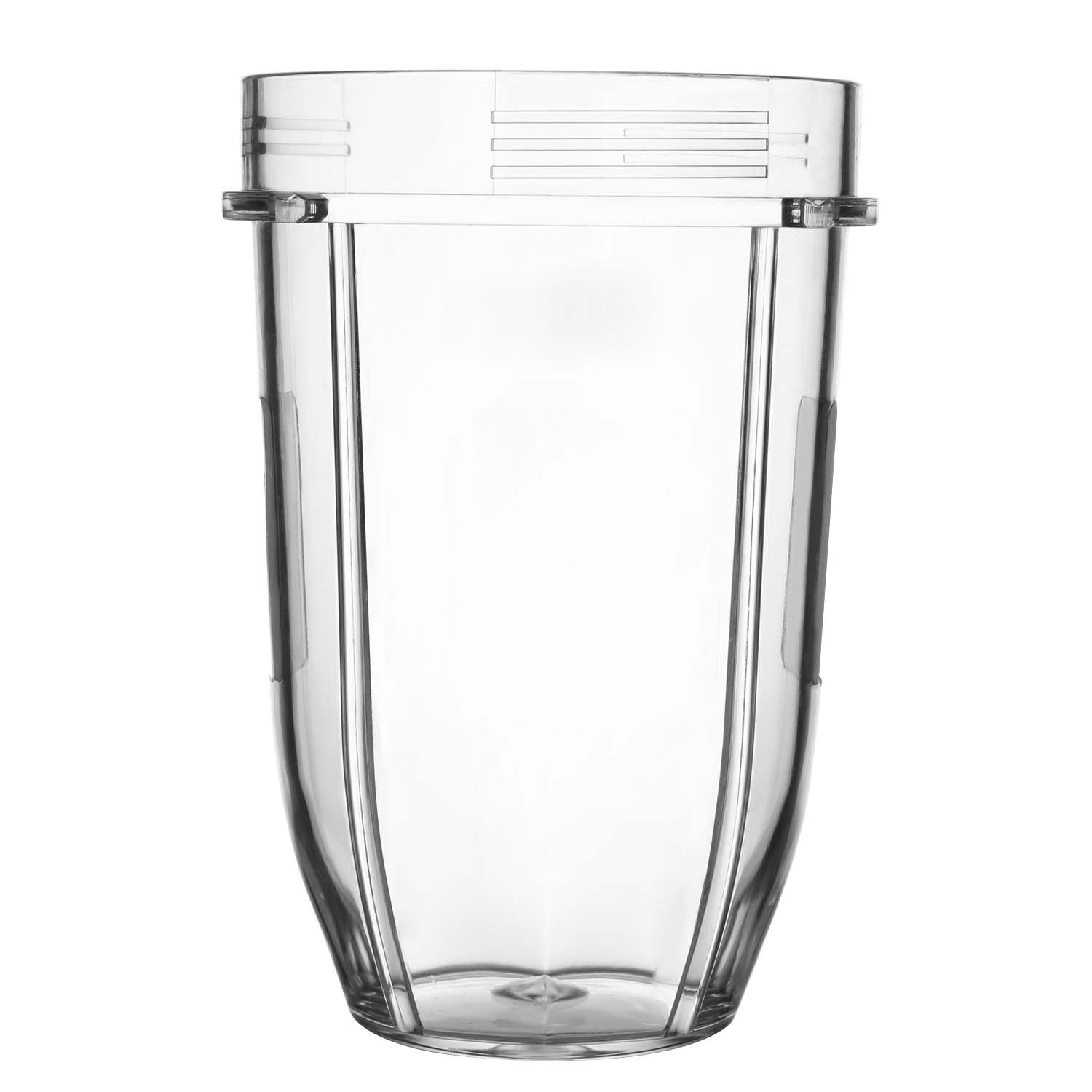 Regular 24oz. Replacement Cup Mug Part for Nutri Ninja 900w 1000w 1500w Auto-iQ Blender Juicer Mixer YESURPRISE
