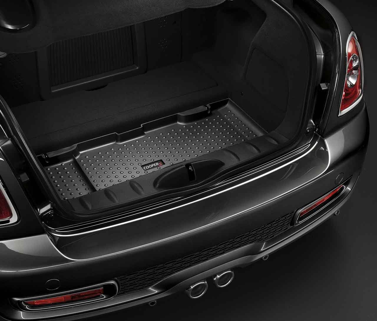 Mini cooper rubber floor mats uk - Mini Genuine Fitted Protective Car Boot Cover Liner Mat R56 R58 R59 51470418666