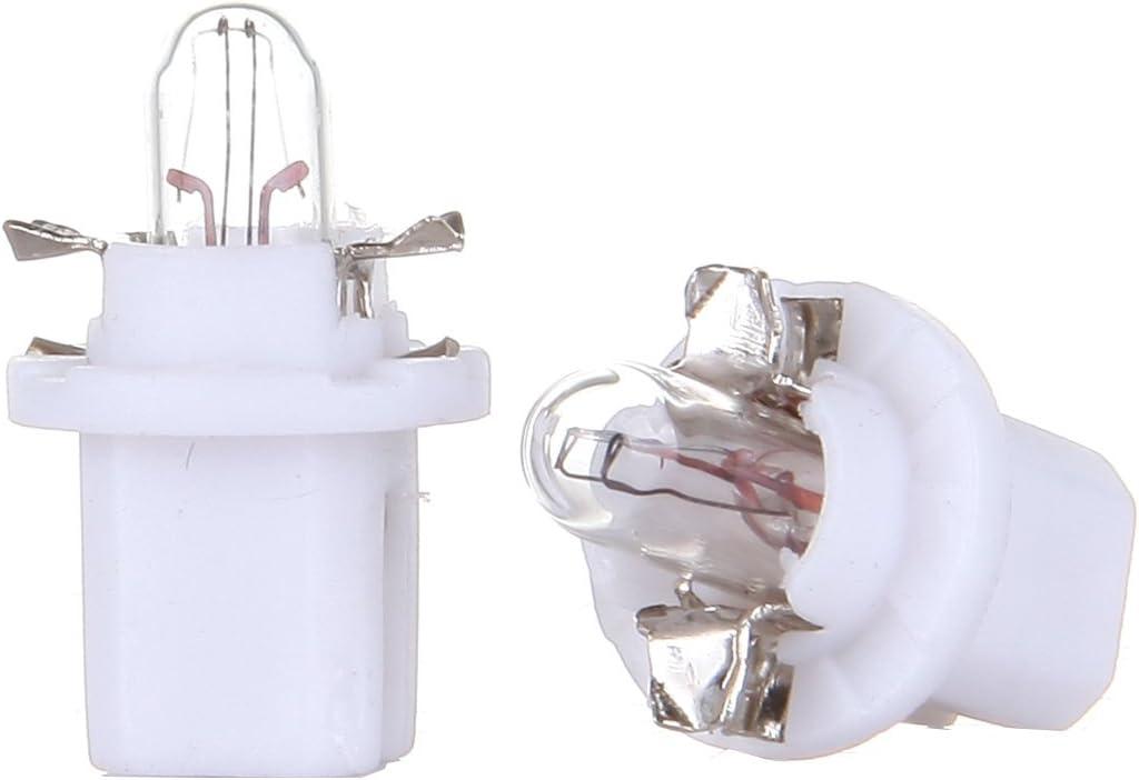 SCITOO 20Pcs B8.5D Neo Wedge Halogen Light Bulbs Instrument Gauge Cluster Light Bulbs for A//C Climate Control Light
