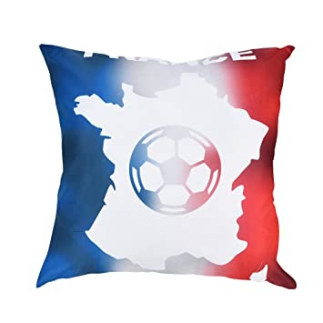 Decoracion de Copa Mundial de Fútbol Funda de cojín para ...