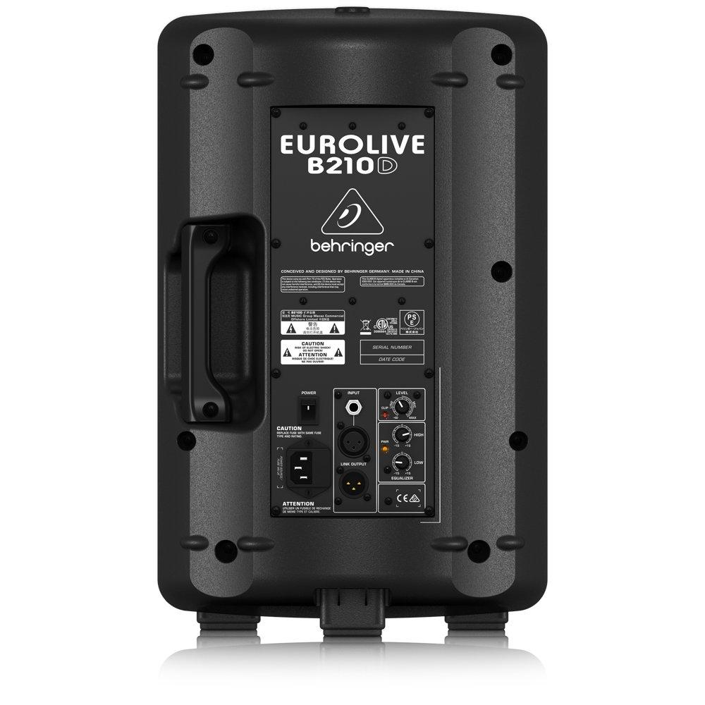 Behringer Eurolive B210D Active 200-Watt 2-Way PA Speaker System by Behringer (Image #2)