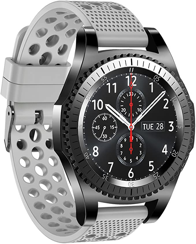 Para Samsung Gear S3 Classic Bands/Frontier 22 mm banda de reloj ...