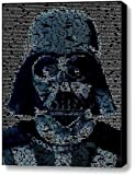 Star Wars Darth Vader Quotes Mosaic Incredible Framed 9x11 Inch Limited Edition with COA