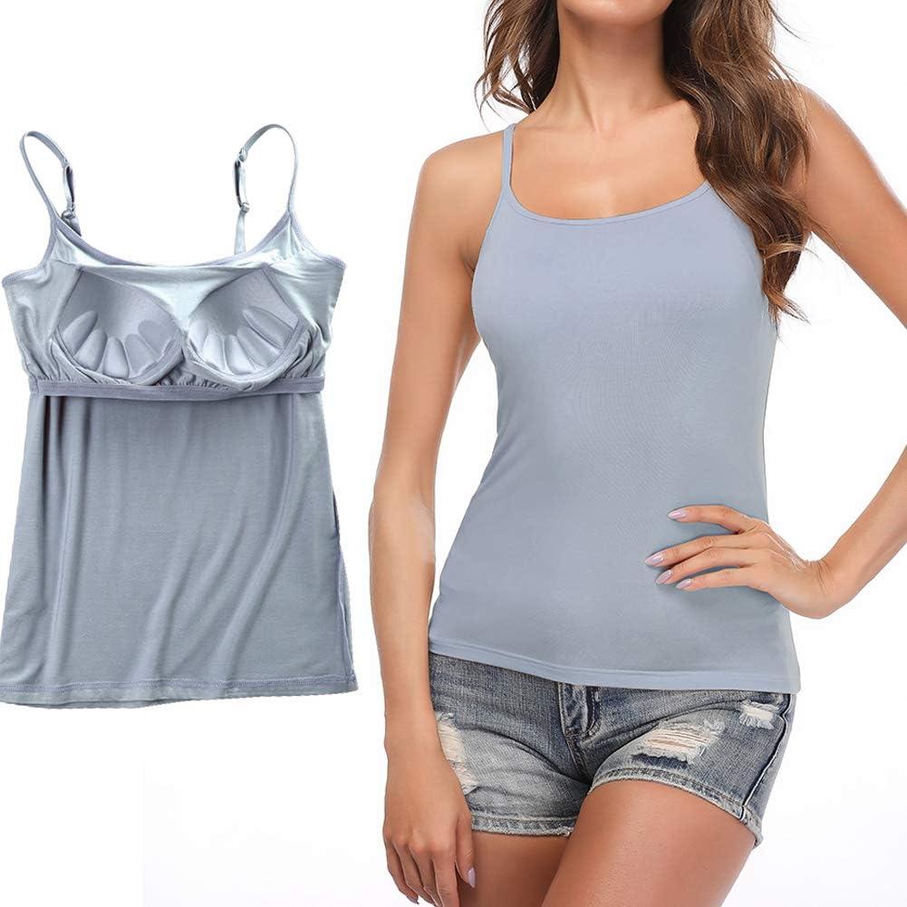 STARBILD Camiseta Interior para Mujer Camiseta Tirantes Ancho ...