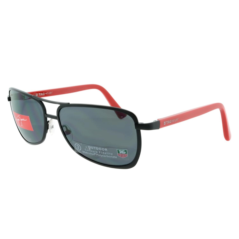TAG Heuer - Gafas de sol - para hombre negro/rojo: Amazon.es ...