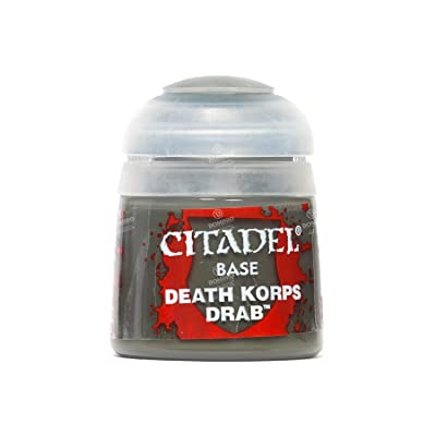 Citadel Paint Base Death Korp Drab: Toys & Games