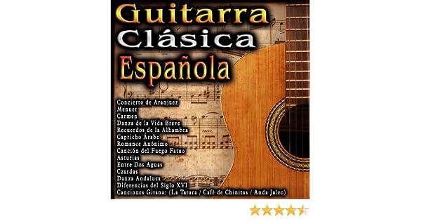 Guitarra Clasica Española de Varios Artistas en Amazon Music ...