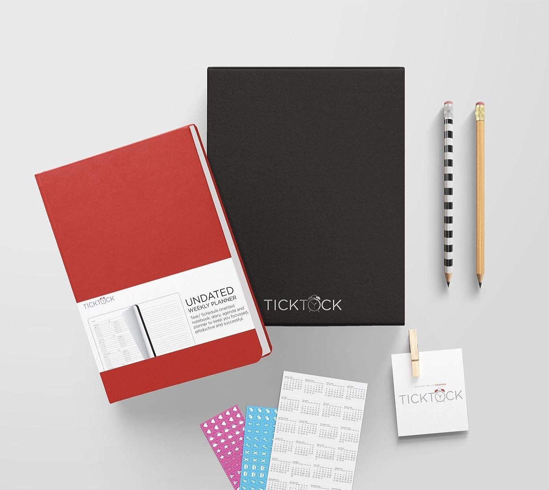 Planificador semanal TickTock - Mejor agenda y organizador ...