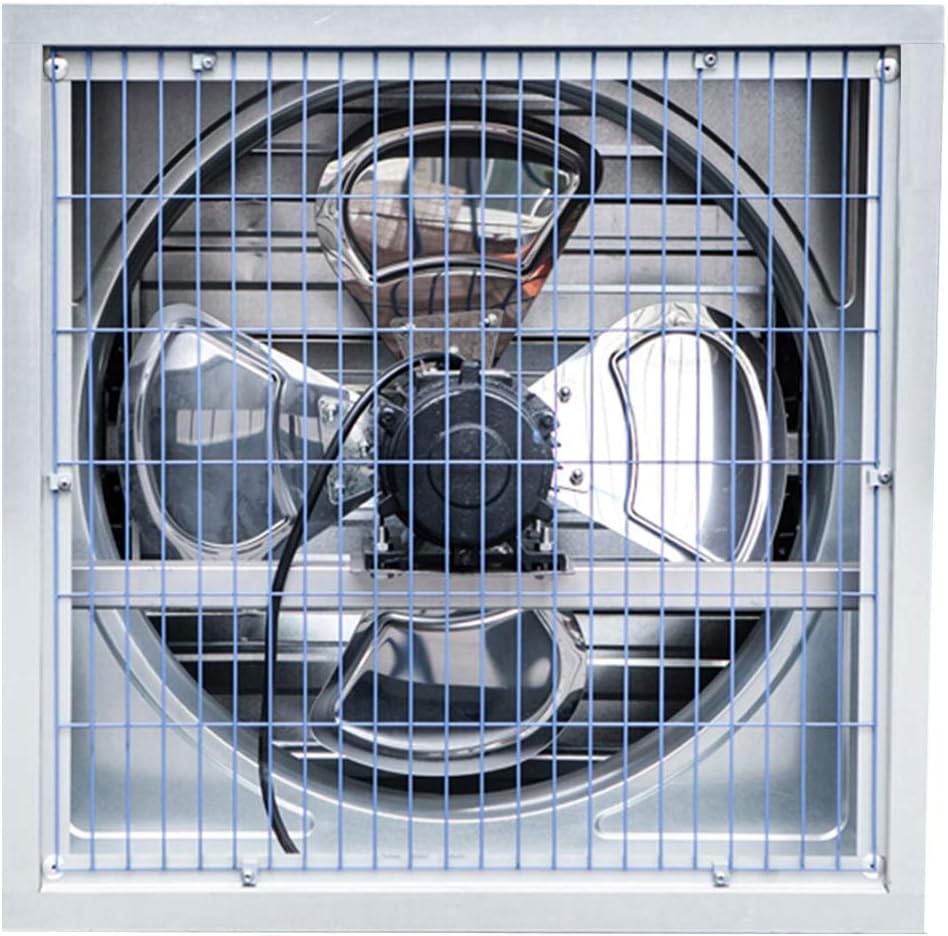 Ventilador De Flujo Axial, Extractor Aire Industrial De Acero ...