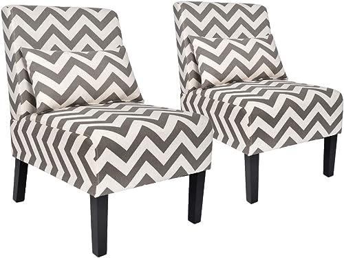 YOUTLITE Accent Chair Armless Elegant Design Sofa Chiar