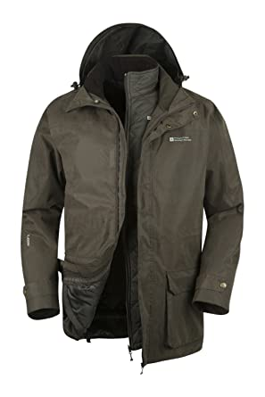 Mountain Warehouse Gable 4 in 1 jacke mantel für Herren