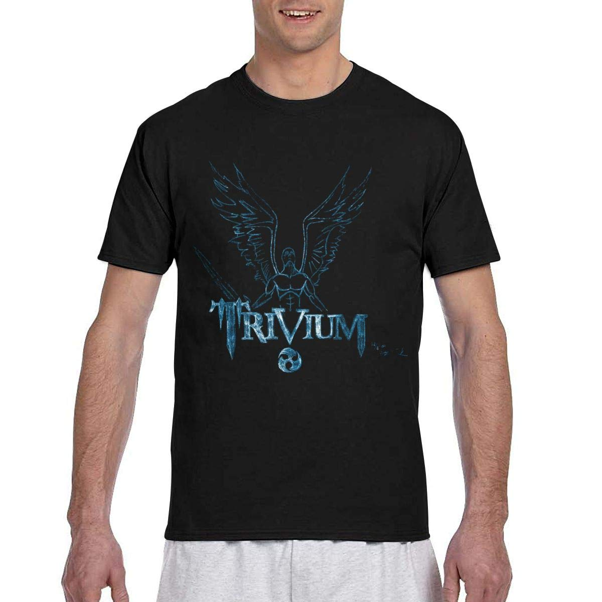 AshleyJLeib Trivium Mens Funny Short Sleeve T Shirts