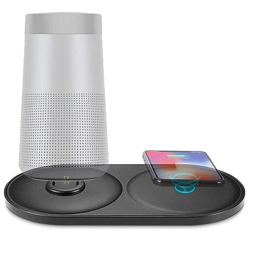 SLONG Teléfono Móvil Inalámbrico Cargador Bluetooth Altavoz ...