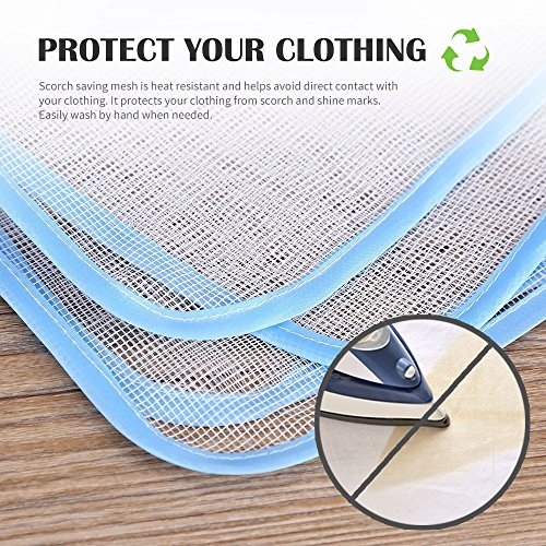Eutuxia Ironing Blanket Mat Alternative To Iron Board Quilted