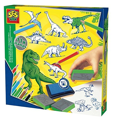 SES Creative Stamp Set-Dinosaur Arts and Crafts