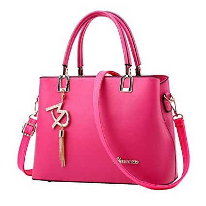 b26c4a48ab6 Image Unavailable. Image not available for. Color  New Ladies Bag Simple Handbag  Shoulder Bag,Outsta Women Large Bag Messenger Bag Purse Cosmetic