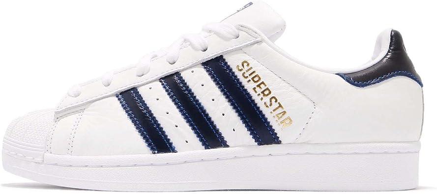 Precaución hermosa Pasteles  Amazon.com: adidas Superstar, calzado para hombre, color blanco, rojo y  dorado, Blanco: adidas Originals: Shoes