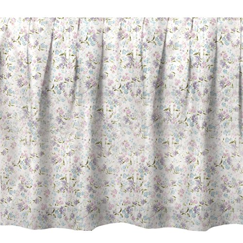 Floral Twin Bedskirt (Donna Sharp Twin Bedskirt, Lily Floral(G))