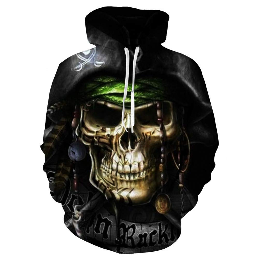 WEIYI217 XL 3D Hoody Coat Outwear Blouse Fashion Coat Winter Jacket with hat Digital Printing Hooded Couple Sweater