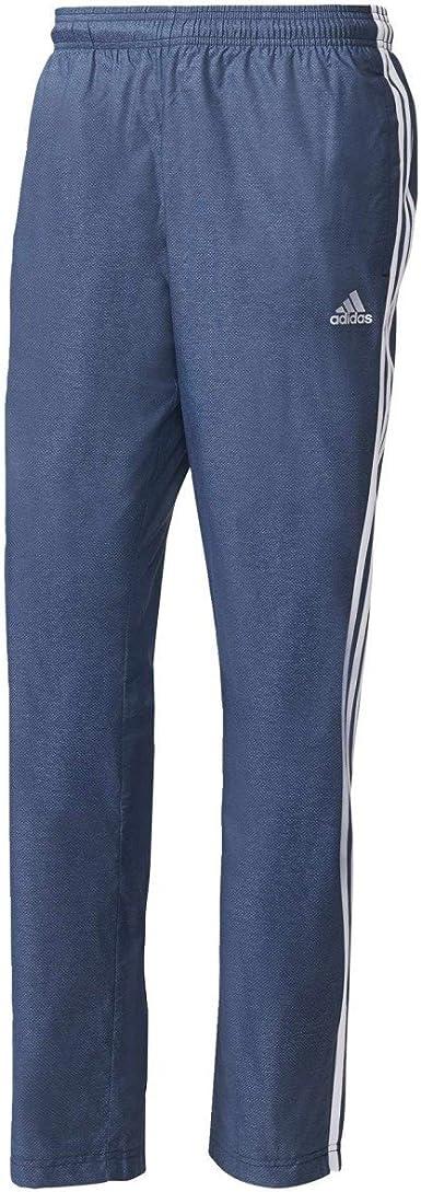 adidas ESS 3s Wvn Pantalón de Chándal, Hombre: Amazon.es: Ropa y ...