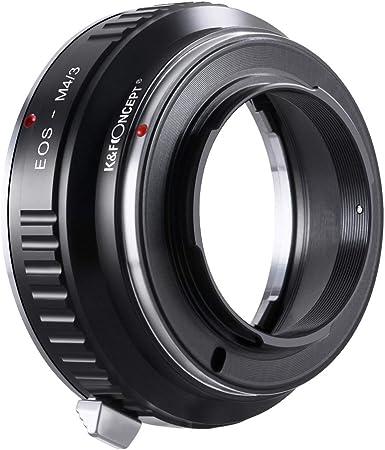 Zhongyi anello adattatore 2nd generation per obiettivi di montaggio Canon EOS telecamere M43 per Panasonic e Olympus