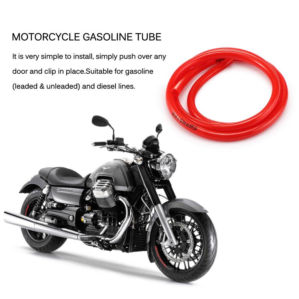 ONEVER Petrleo y Gas 1M de Combustible de la Motocicleta Tubo ...
