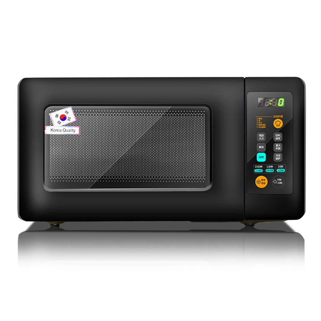 500W 0.5 Cu.Ft Wall-mounted Rotary Microwave Oven, Hanging Whirlpool Mini Microwave Oven, Compact Microwave For Dorm, Black