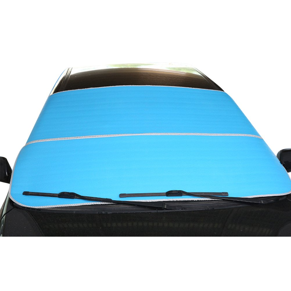 Zhhlinyuan 200*95cm Car foldable Sunshade Windshield Sunblock UV Ice Rain Snow Resistance Cover