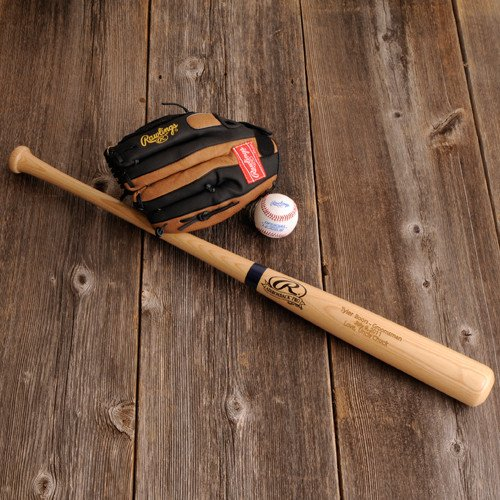 Groomsmen Gifts Baseball Bats (Groovy Groomsmen Big Stick Baseball Bat)