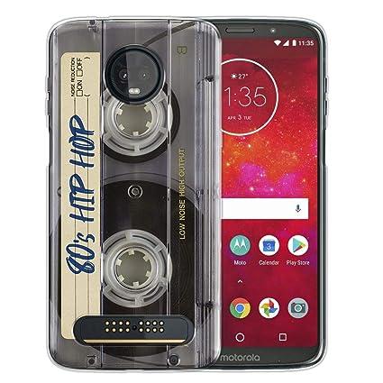Amazon.com: FINCIBO Funda Compatible para Motorola Moto Z3 ...